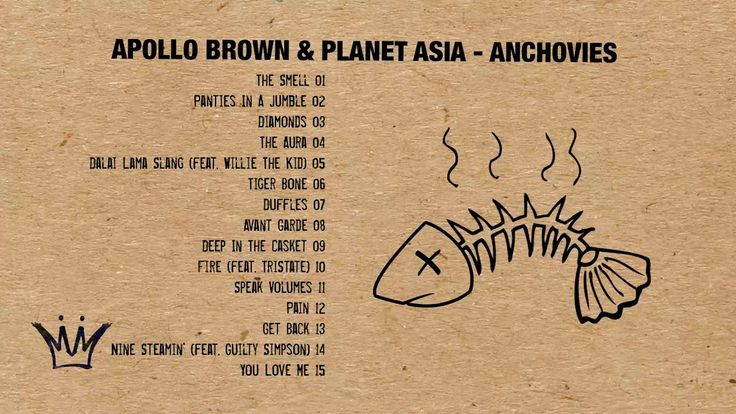 Apollo Brown & Planet Asia - Anchovies (Full Album Stream)