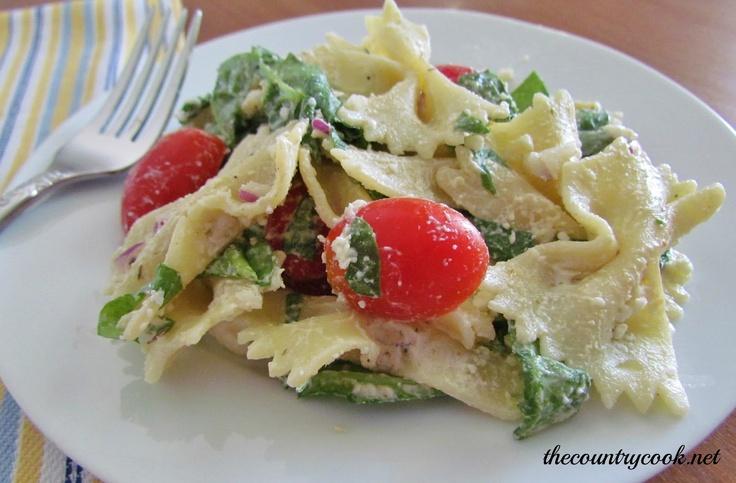 Creamy Mediterranean Pasta Salad & A Virtual Summer BBQ