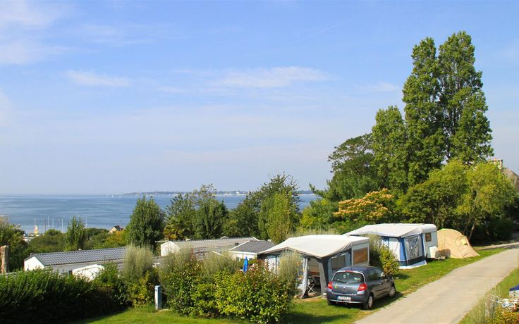 Forfait Camping Car - Location camping Concarneau, Bretagne, Finistere sud - Locations emplacements camping bord de mer - Camping Les Sables Blancs