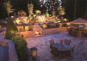 Lighting, Outdoor Living, New Jersey Landscaping, Green Meadows Landscaping, Inc.