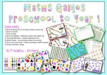 Maths Games Preschool to Year 1