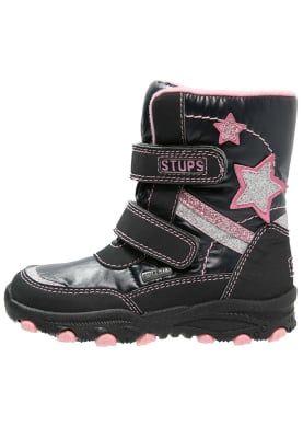 Vinterstøvler - navy/pink