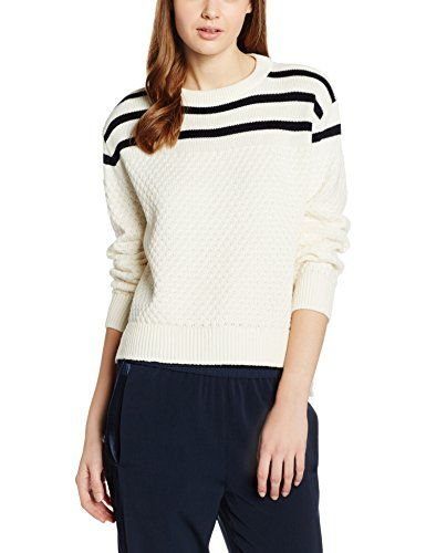 Ecru Fr Pull taille 36 Le 1524 Mont Michel Femme White off Saint qwaxzIaY