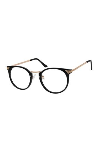 25 Pairs Of Specs That Flatter ANY Face #refinery29 Zenni Optical Plastic Frame w/ Metal Alloy Temples $23.95 avail @ Zenni Optical