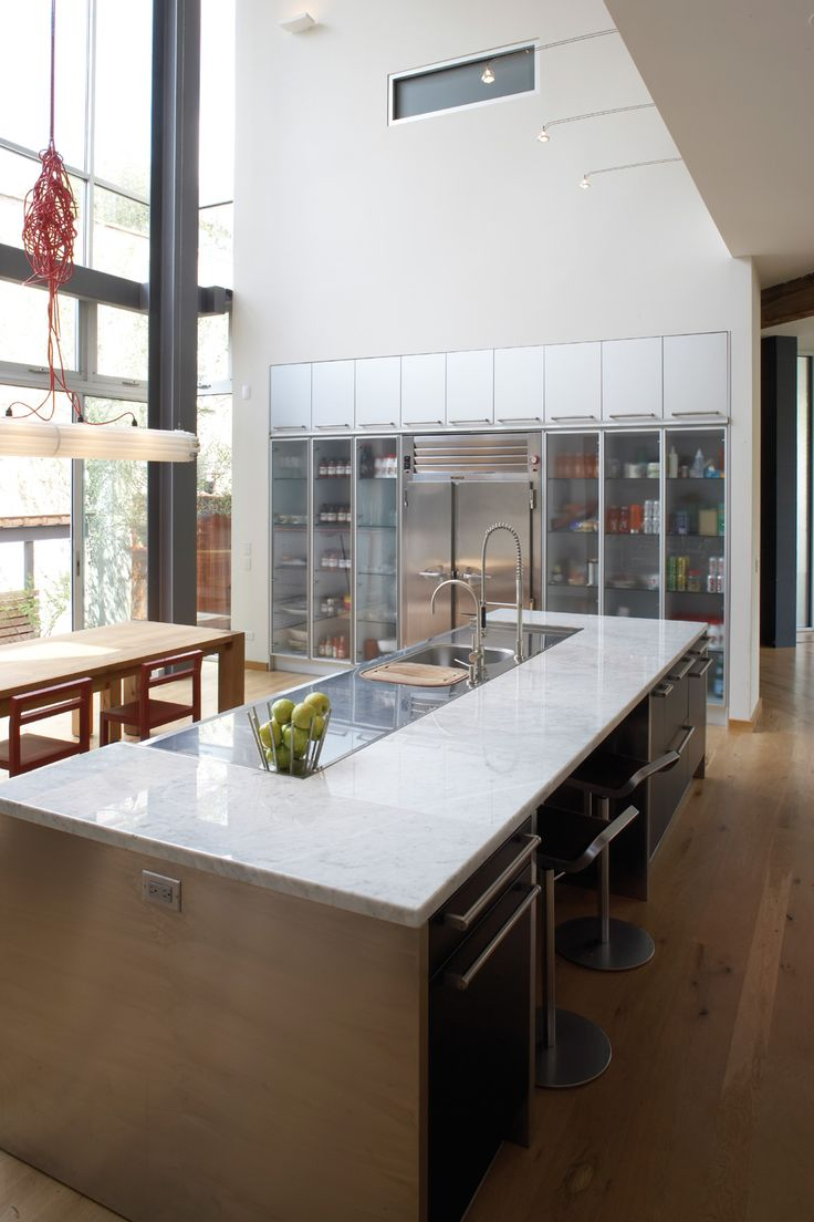 1000  ideas about modern kitchens with islands on pinterest ...