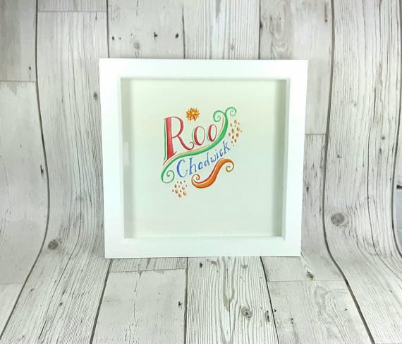Check out this item in my Etsy shop https://www.etsy.com/uk/listing/528120724/custom-name-art-watercolour-lettering