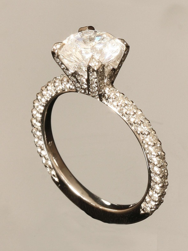 17 best images about ring on pinterest diamond wedding for Michael b s jewelry