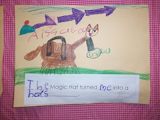"Cute Activity for ""The Magic Hat"" by Mem Fox"