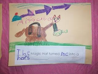 "Cute Activity for ""The Magic Hat"" by Mem Fox"