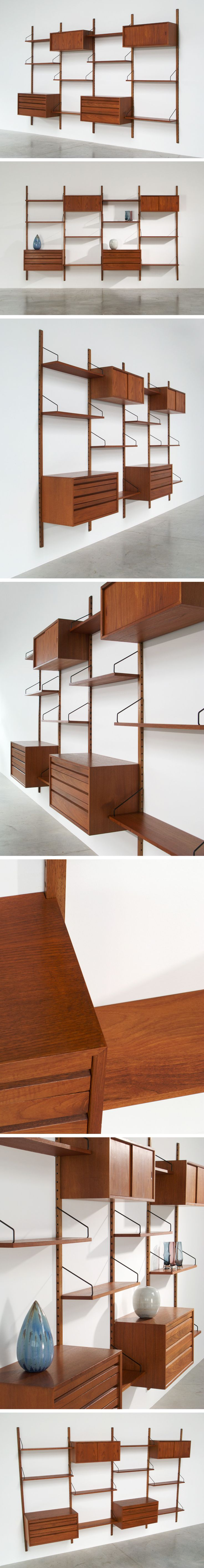 Cadovius Poul modular Wall Unit for Royal System
