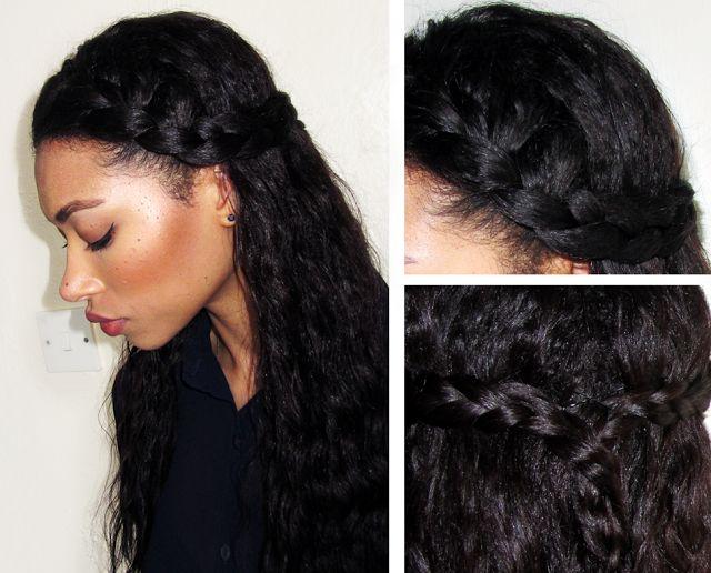 Phenomenal 1000 Ideas About Relaxed Hair Hairstyles On Pinterest Flat Iron Short Hairstyles Gunalazisus