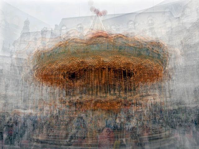 Blurry Carousels and Fuzzy Trees by Pep Ventosa