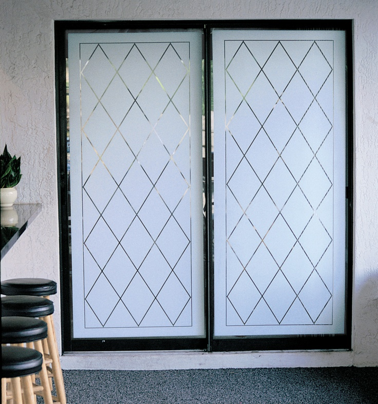 Frosted Glass Decorating Ideas And Patio On Pinterest