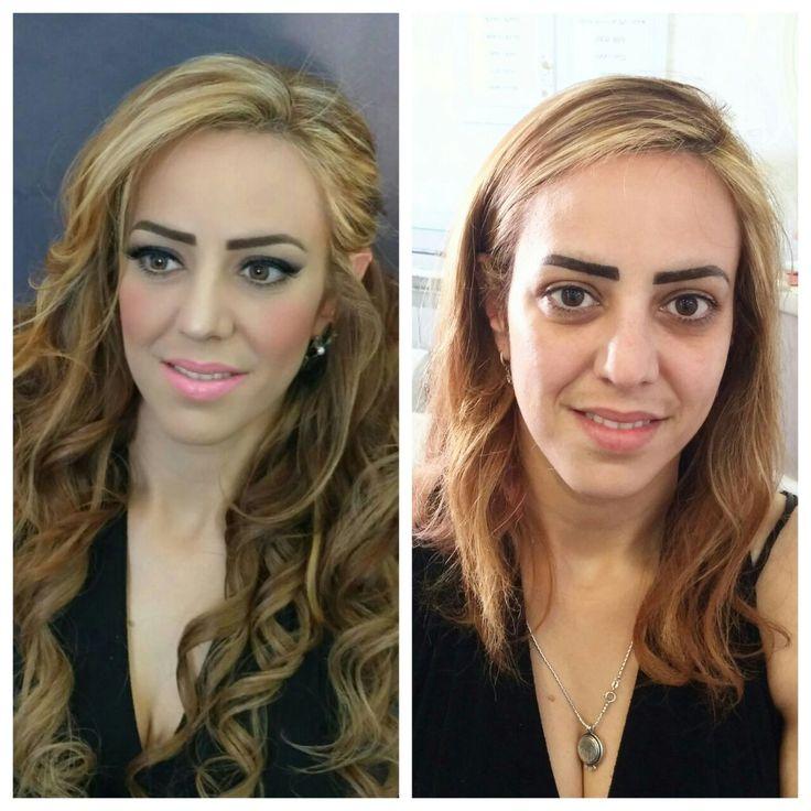 Beauty art, bridal makeup, hairstyles, eyebrow design, marine tanning
