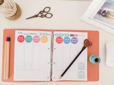 Cómo organizar tu agenda. Tips - YouTube