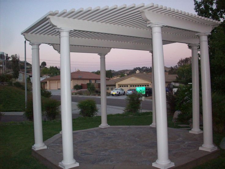 Free Standing Patio Cover Patio Covers Pinterest Patio