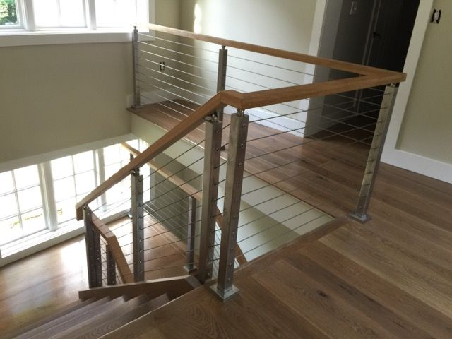 35 best Indoor Cable Rail images on Pinterest | Banisters, Cable ...