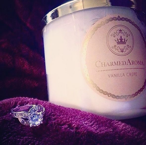 A sample ring you can win from candles at Charmed Aroma. Visit www.charmedaroma.com to order yours today!