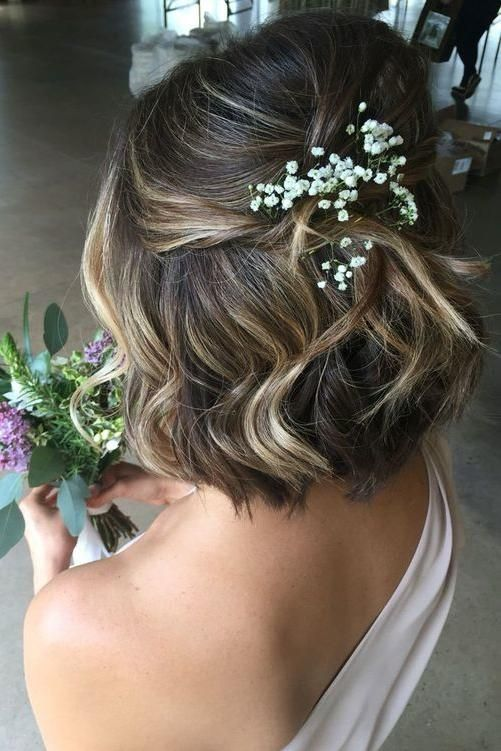A touch of baby breath Half, but never half finished. Maybe just as stressful … – pretty pretty – #aber #babyatem #in #ready #like