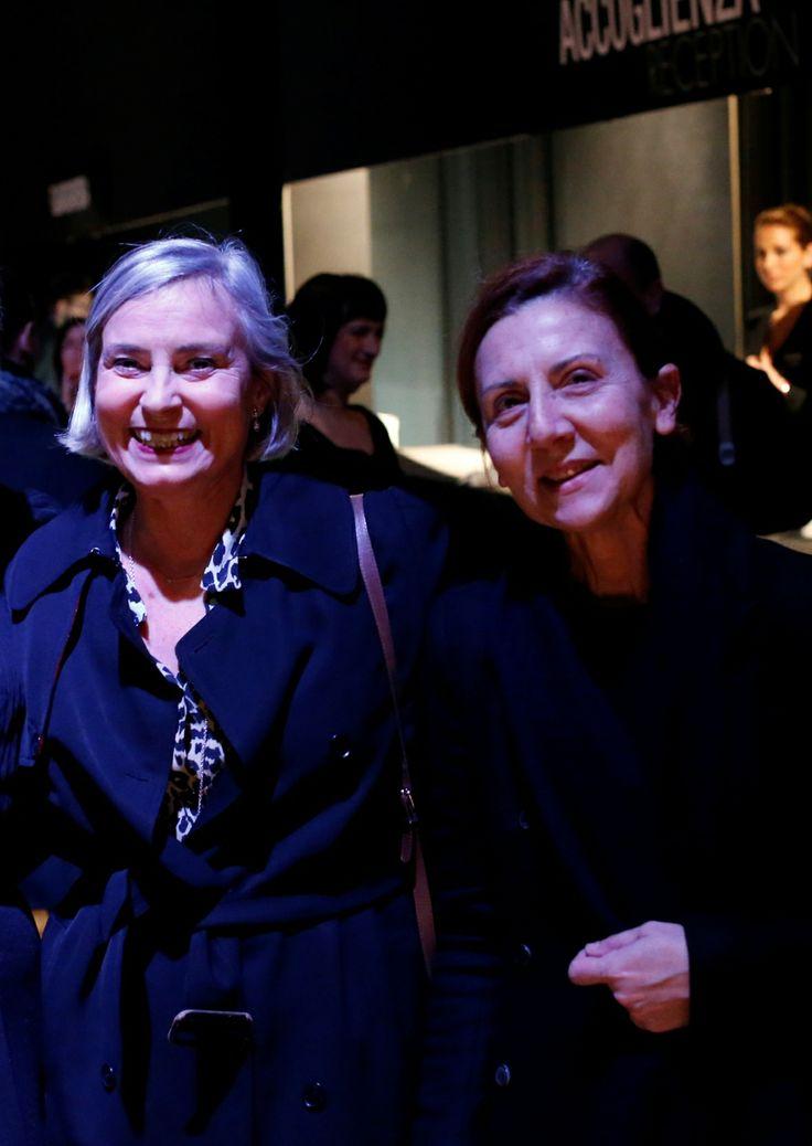 Chiara Ferrari e Anna De Falco #stileitaliano #NeroGiardini