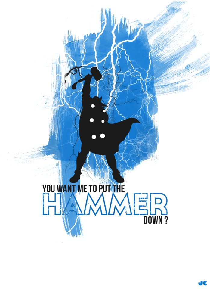Put the hammer down - The Avengers Series