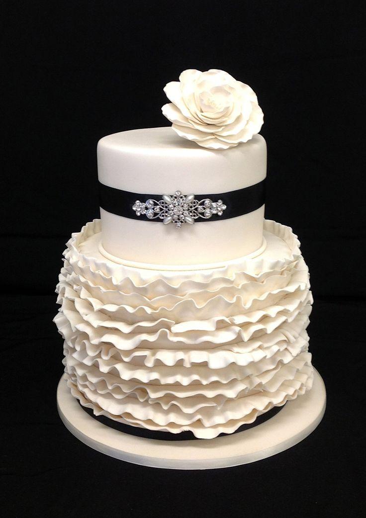 #Ruffles #Cake