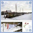 Zakelijke kerstkaart 6243 - Zakelijke kerstkaarten kunt u online bij Seasoncards.nl bestellen en kopen.