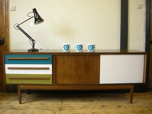 Superb 20th Century Retro Sideboard/TV/ Media Cabinet Upcycled/ Modern/Similar To  Gplan