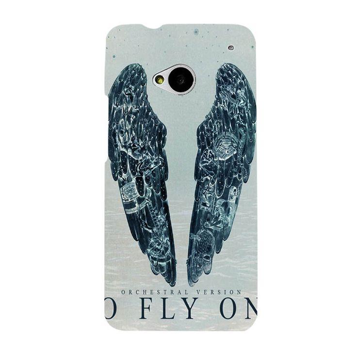 Истории О Призраках Coldplay Света Логотип Трудно Черный Пластиковые Крышки Мобильного Телефона УФ-Печати Чехол Для HTC M7
