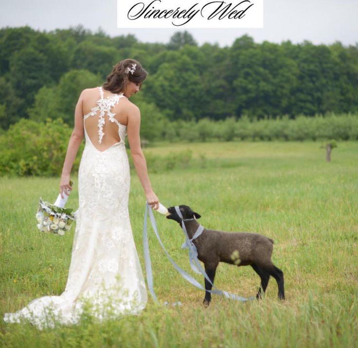 #clairepettibone #weddingdresses #outdoorweddings #farmweddings #bride #weddingideas www.sincerelywed.com