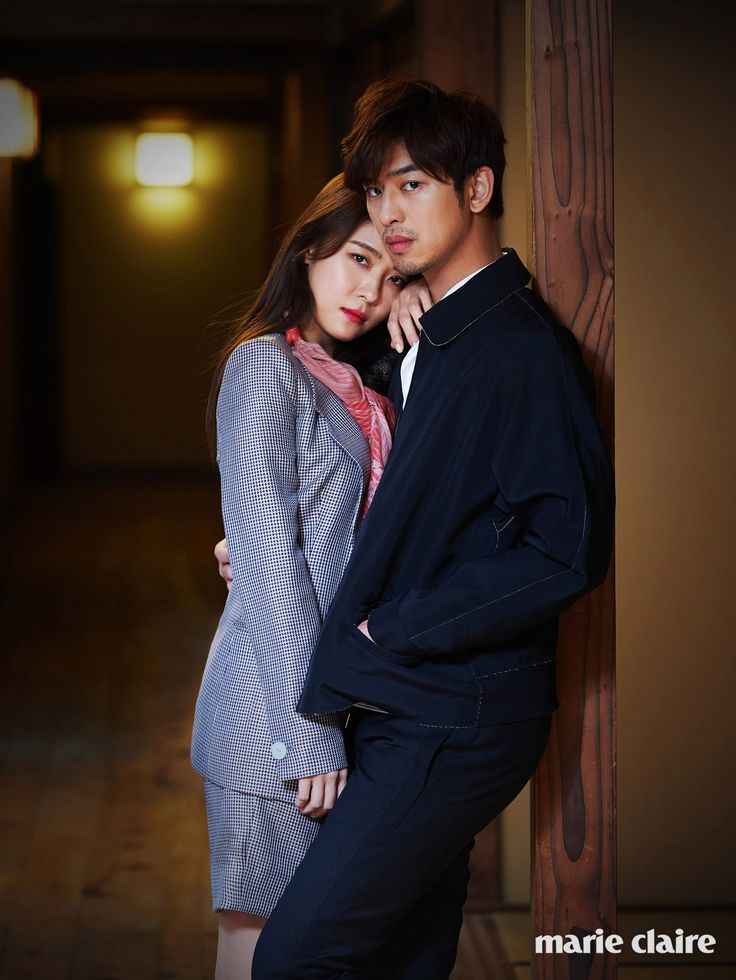 Ha Ji Won & Chen Bo Lin Are Loved Up in Japan for Marie Claire Korea   Couch Kimchi
