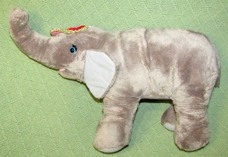 "Ringling Brothers Circus Elephant Plush 15"" Stuffed Animal Greatest Show Toy #FeldEntertainment"