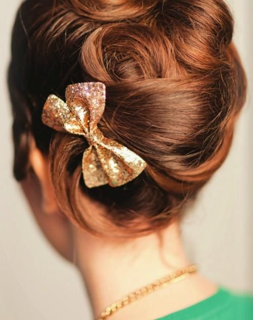 hair bow hairstyles ideas
