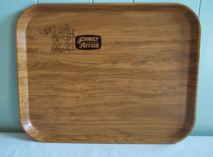Woodgrain serving tray, large cafeteria style Camtray by Cambro Mfg Hutington Beach CA, durable fiberglass, kitchen or bar, Family Affair by GraceYourNest on Etsy