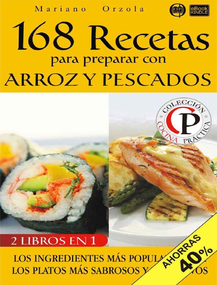 168 recetas para preparar arroz y pescados