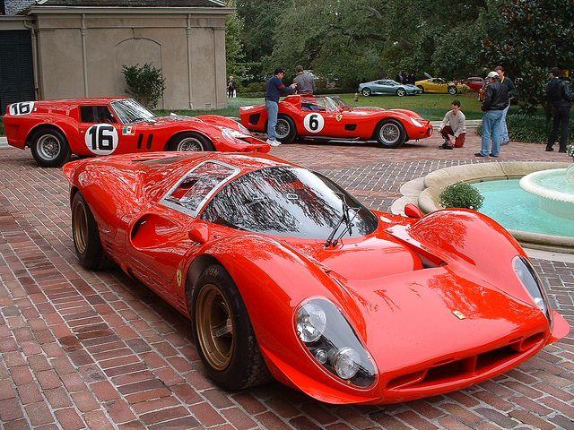 Ferrari 330 P4 et réunion entre amis!!