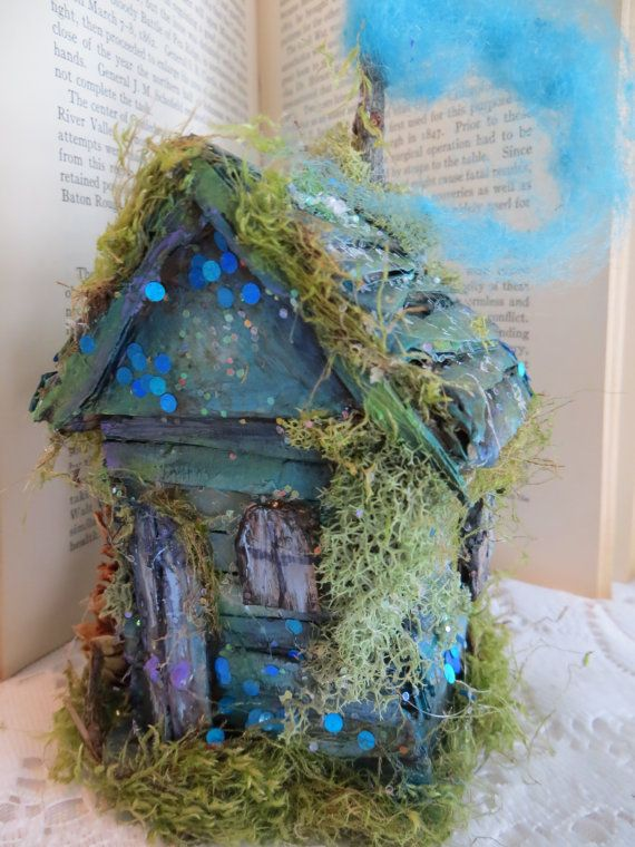 Miss velma handmade all original fairy house fairy for Original fairy door
