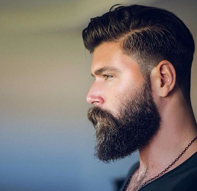 Mens Hairstyle And Beard 73 Best Beards Images On Pinterest  Beard Styles Moustaches And