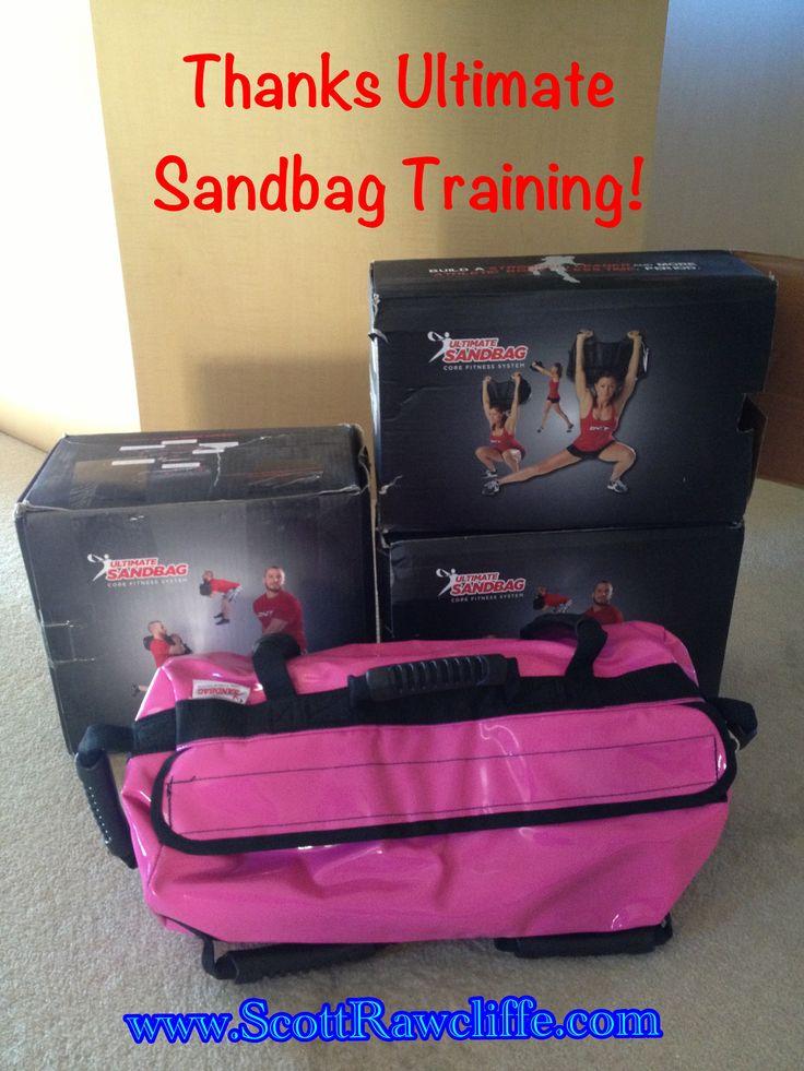 Ultimate Sandbag Training...doesn't get much better than this!!  www.ultimatesandbagtraining.com
