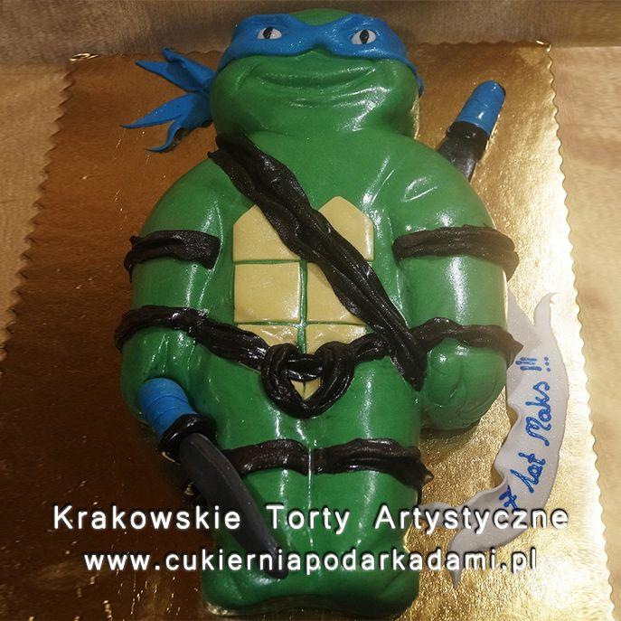 108. Tort 2D Wojownicze Żółwie Ninja. Teenage Mutant Ninja Turtles cake.