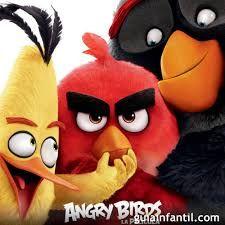 angry birds  es una  película  inspirada en el juego de los angry birds donde red y sus amigo se aventuran