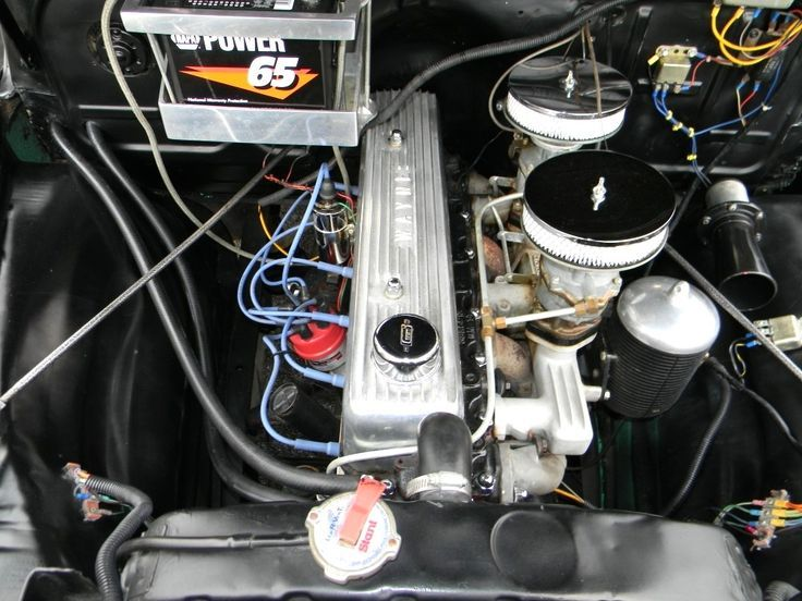 Chevrolet 235 Straight Six 1955 235 CUI INLINE 6 CLY