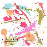 CU paint splatters vol.2