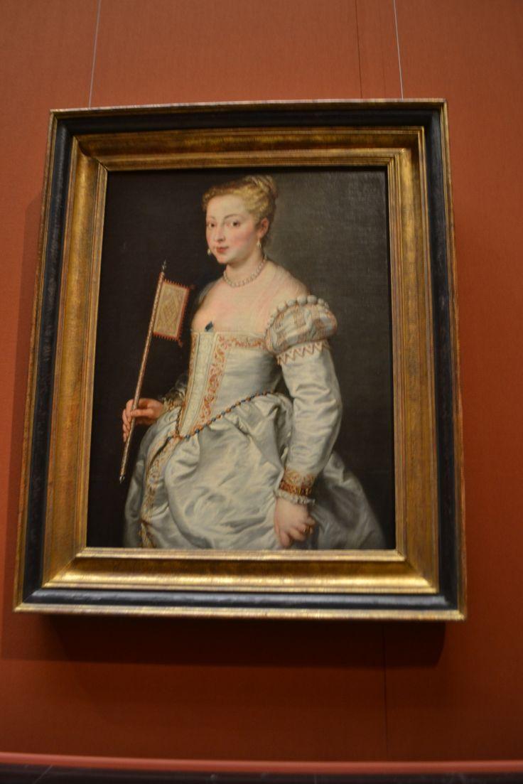 Young Woman with Fan, 1628/30, Peter Paul Rubens