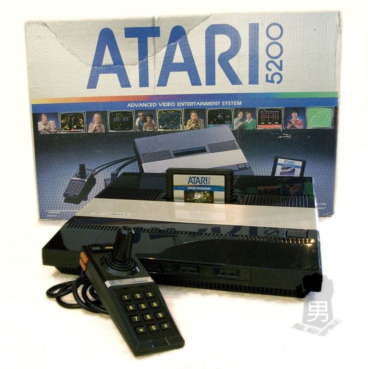The Atari 5200 SuperSystem, was the successor to the incredibly popular. It shared much of the same hardware with the companies 400/800 computers while offering better graphics and was created to compete directly with the ColecoVision. The 5200's controller featured a 360-degree non-centering joystick that was touted to offer control than the eight-way joystick controller offered by its predecessor. Lackluster game development made it less successful than the 2600. It was discontinued in…