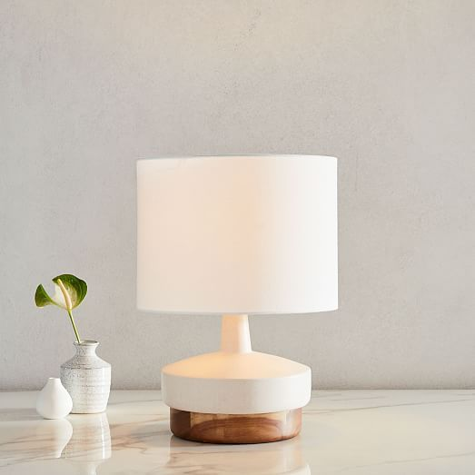 Wood Ceramic Table Lamp Small In 2020 Ceramic Table Table Lamp Ceramic Table Lamps