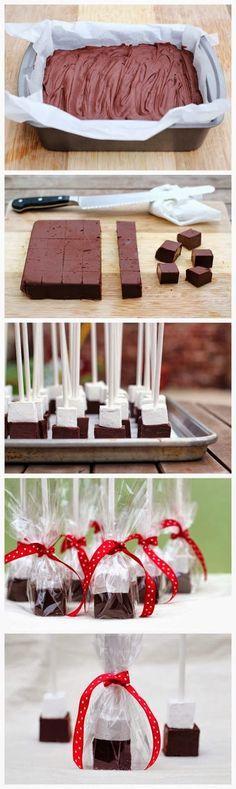Hot Chocolate Blocks