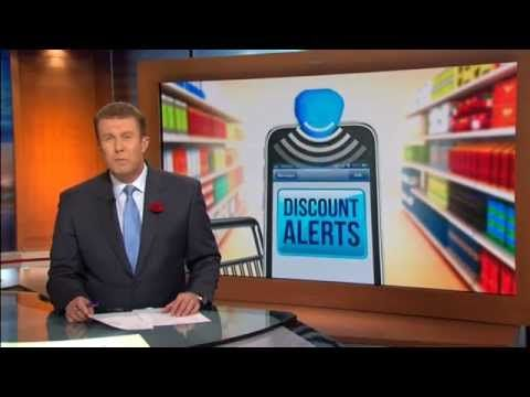 ▶ 9 News discusses supermarket beacon technology - Brian Walker comments - YouTube