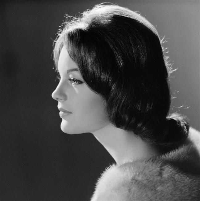 Romy Schneider by Sam Lévin, 1960