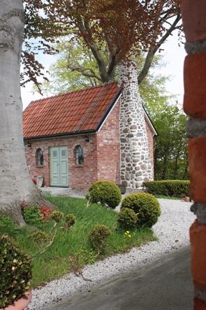 House on Österlen, Skane, Sweden.